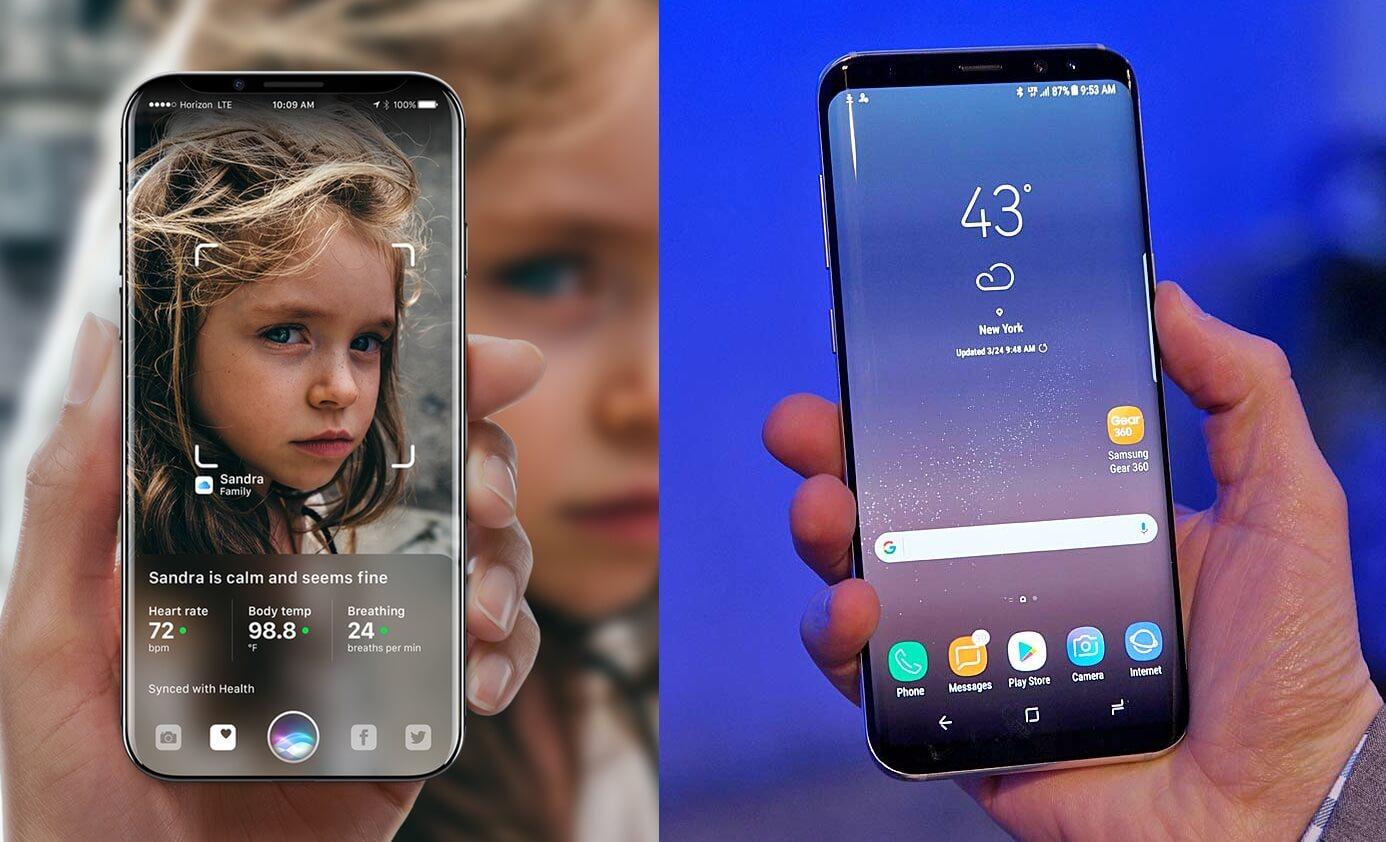 Galaxy-S8-vs-iPhone-8