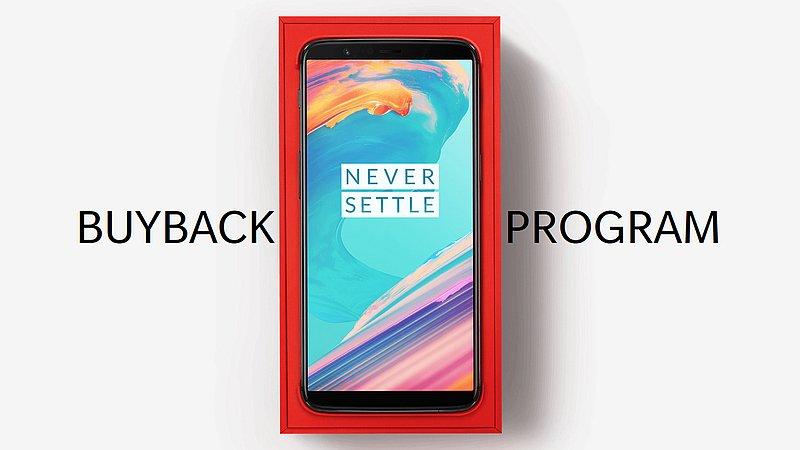 Programme de rachat OnePlus 5T