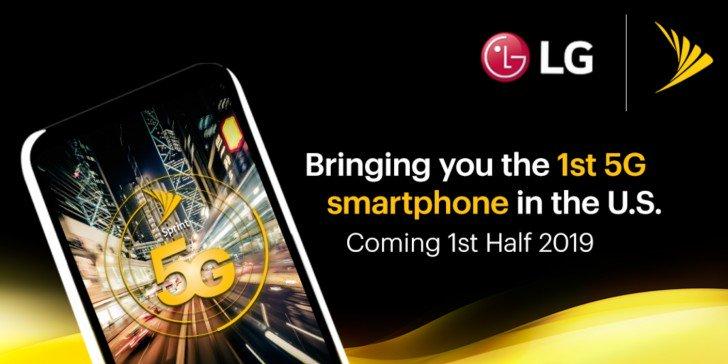 LG выпустит свой первый смартфон 5G