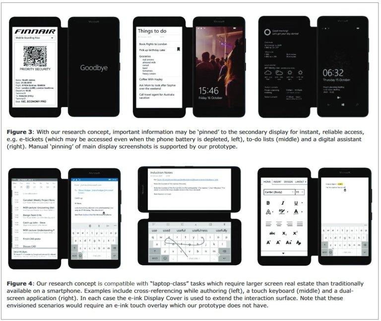 microsoft dual display smarthphone