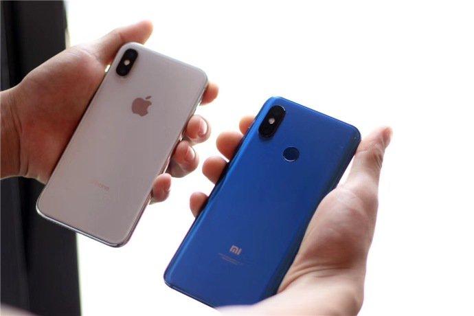 Xiaomi Mi 8 против iPhone X