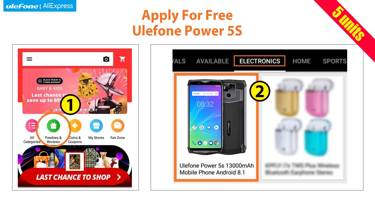 Ulefone Giveaway