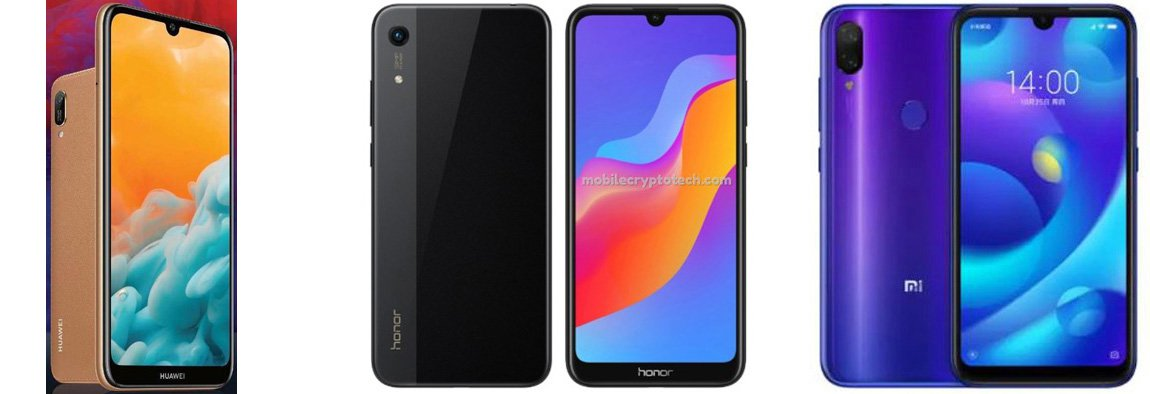 Huawei Y6 Pro (2019) против Honor Play 8A против Xiaomi Mi Play