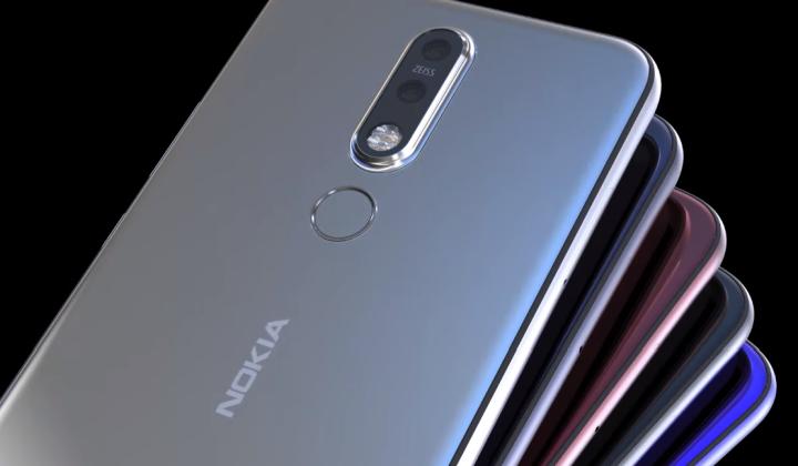 Nokia 6.2 (2019) render