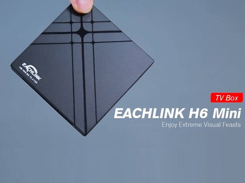 TV set-top box EACHLINK H6 Mini
