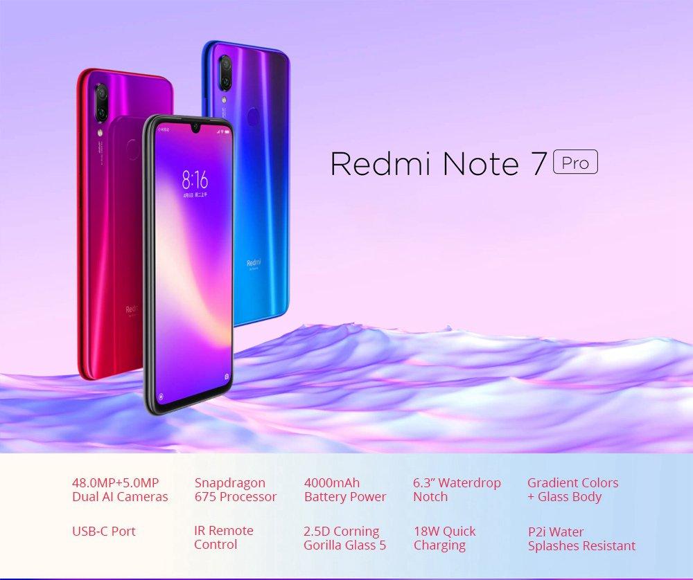 Redmire Xiaomi Note Pro 7