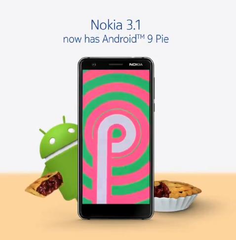 Nokia 3.1 Android Pie