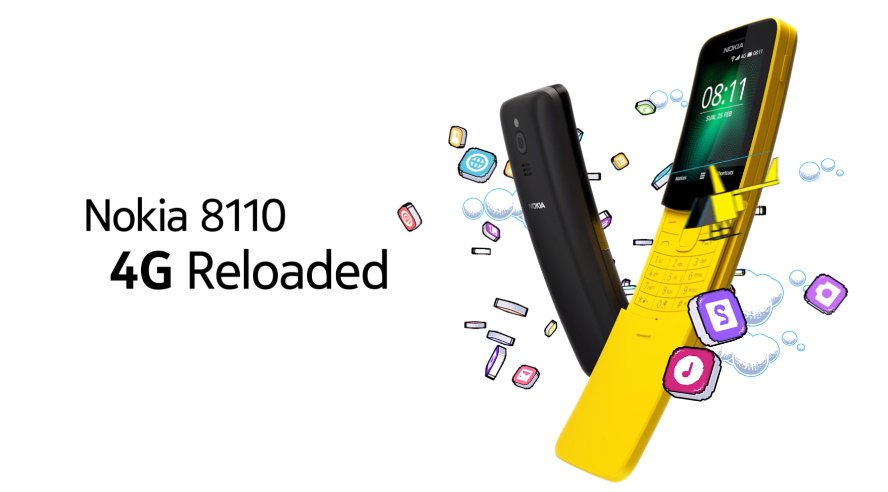 Nokia 8110 4G признакам