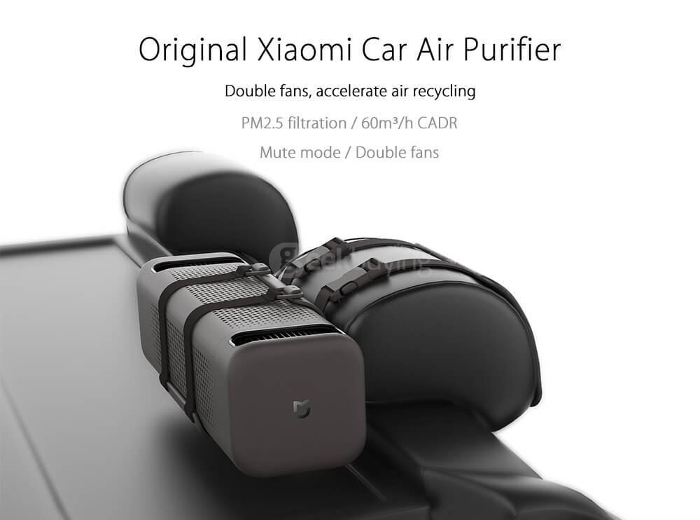 Purificador de ar para carro Xiaomi MiJia