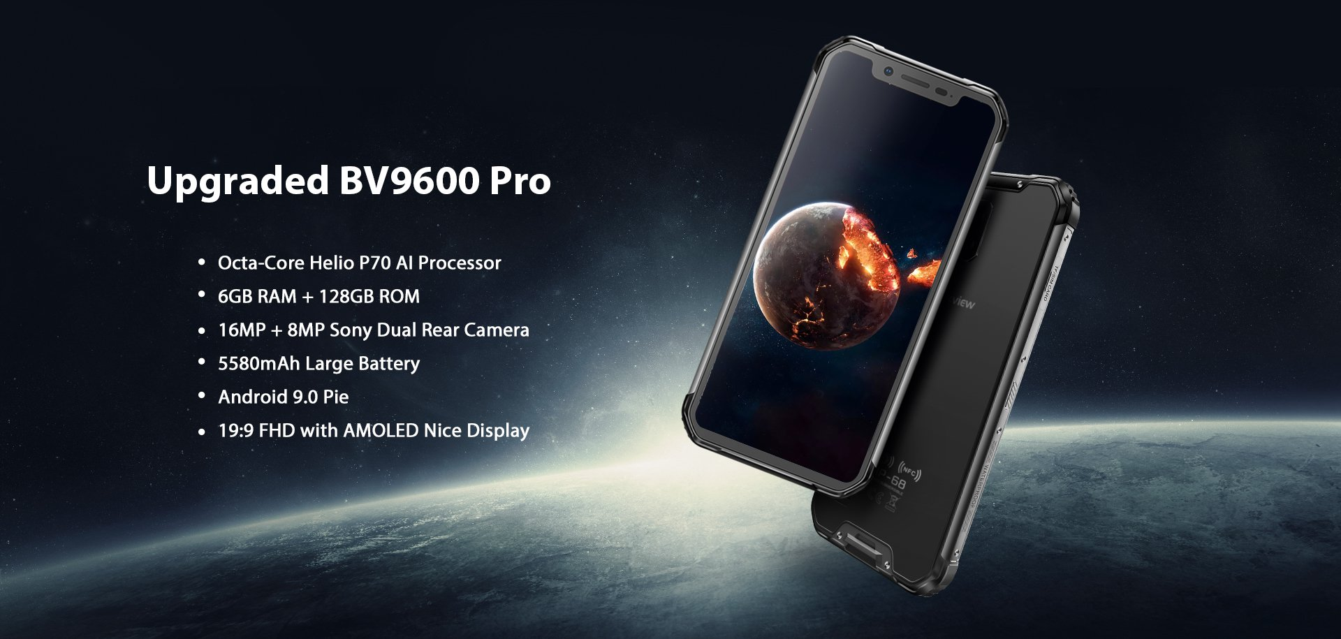 Blackview BV9500 and BV9600 Pro updated using Helio P70 and