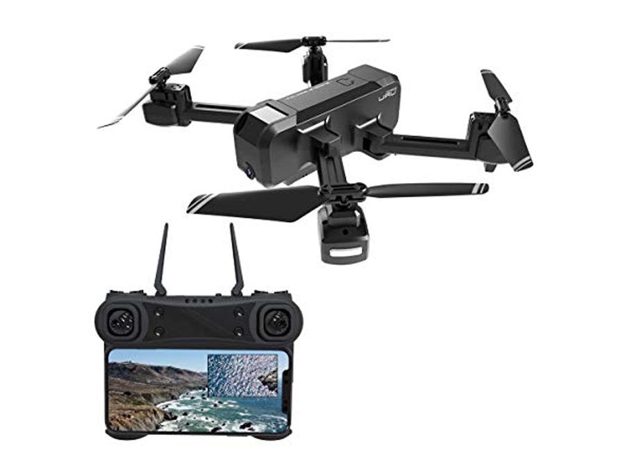 KF607 كوادكوبتر - كاميرا 1080P السوداء