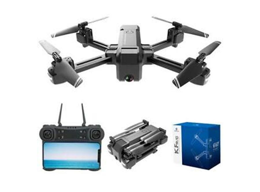 KF607 Quadcopter - Schwarz, 4K-Kamera