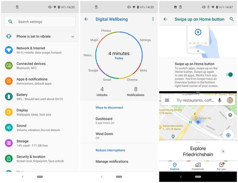 Motorola One Vision обзор интерфейса