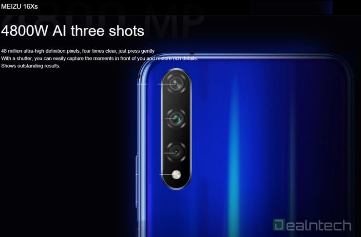 Meizu 16Xs cameras