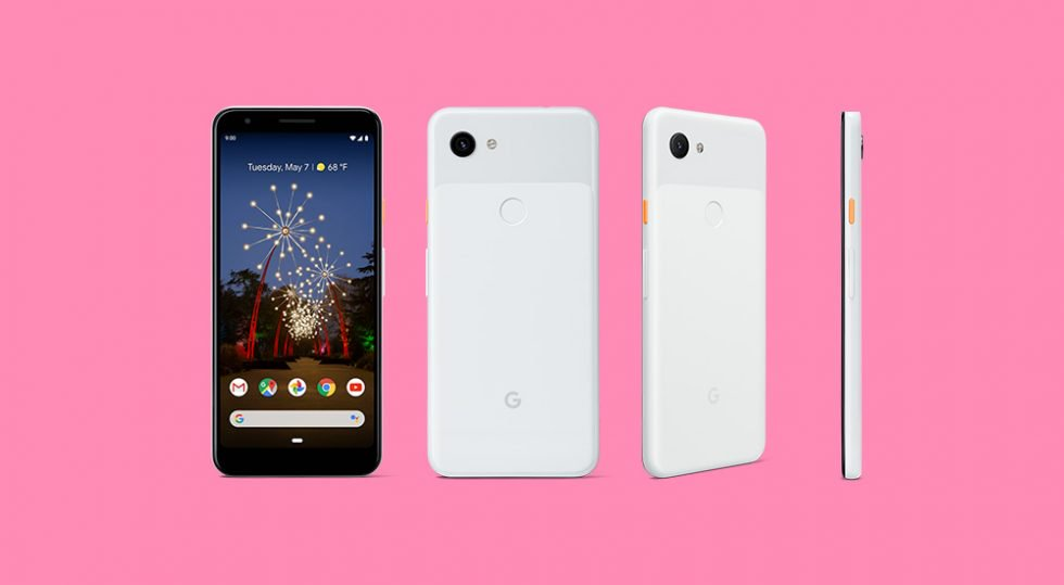 Pixel 3a Clearly White