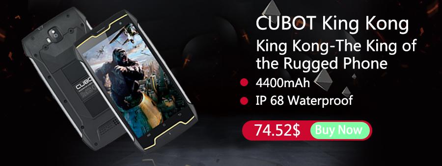Cubot KingKong sur AliExpress