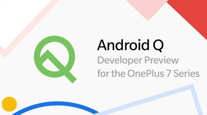 OnePlus 7 Android Q Developer Preview