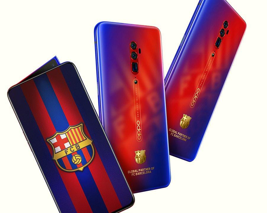 Оппо Рено 10X Zoom FC Barcelona Edition