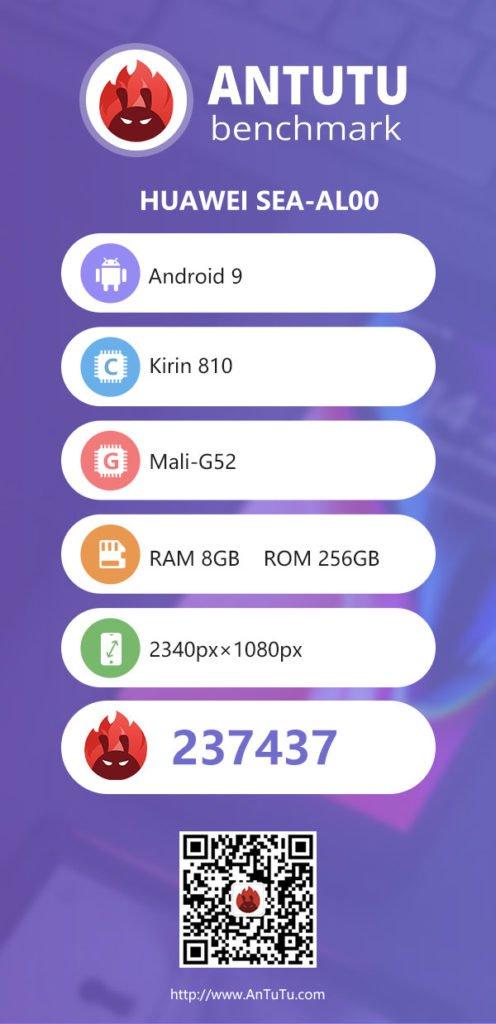 Huawei Nova 5 AnTuTu