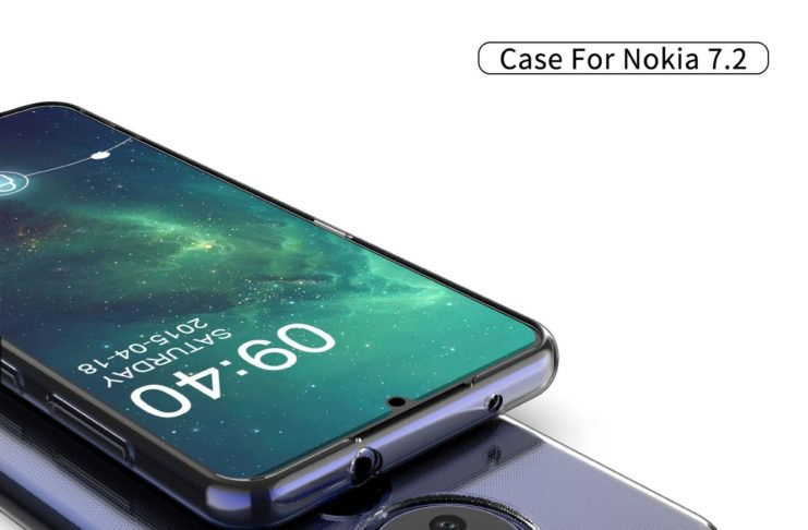 Nokia 7.2 case render