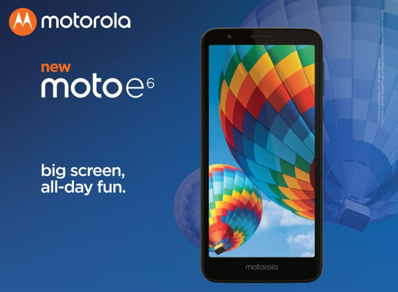 Moto E6 launches in the US: HD + display, Snapdragon 435 for $ 149 1