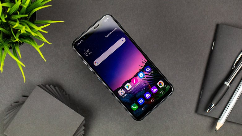 LG G8S thinq полный фронт