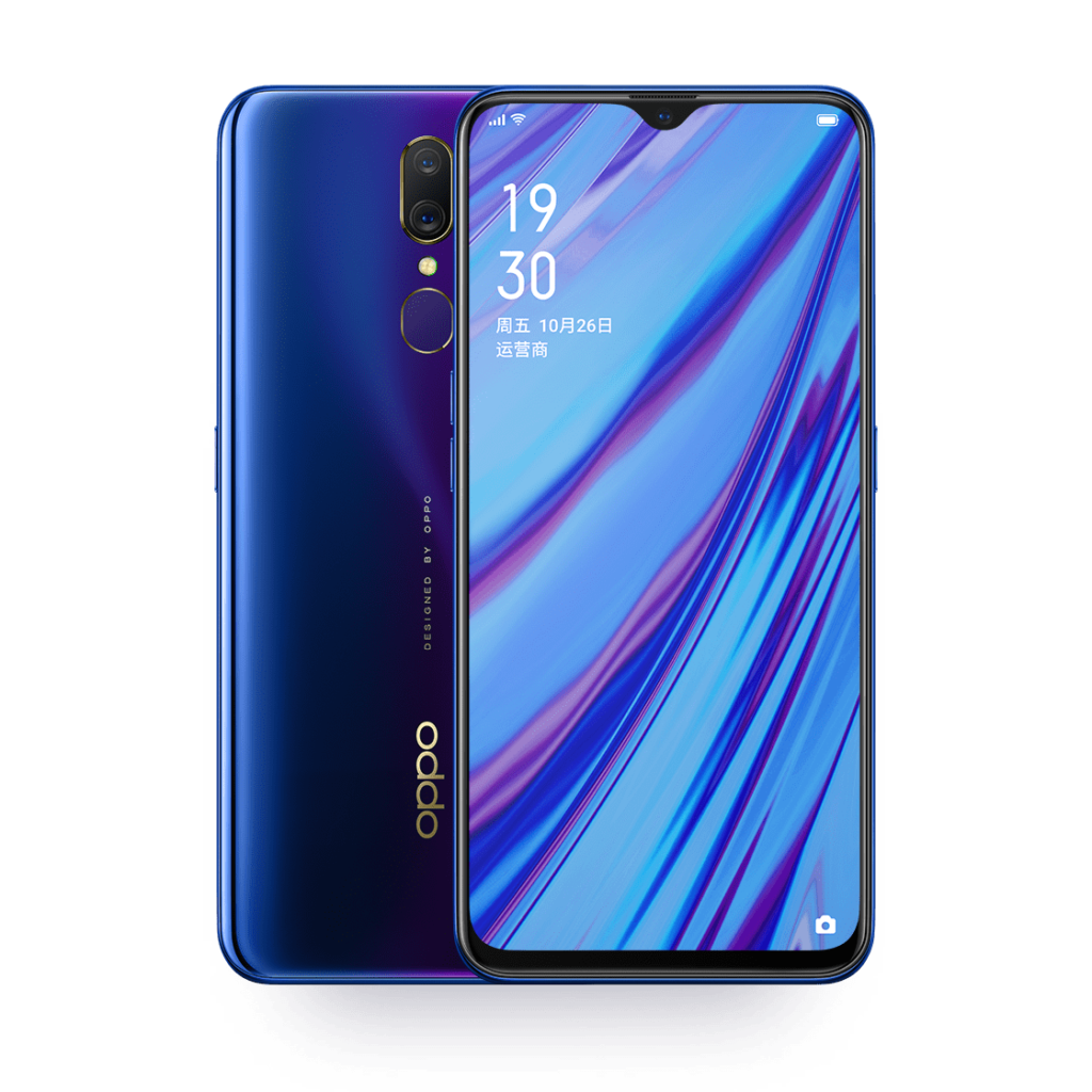 OPPO A9 Флюорит Фиолетовый