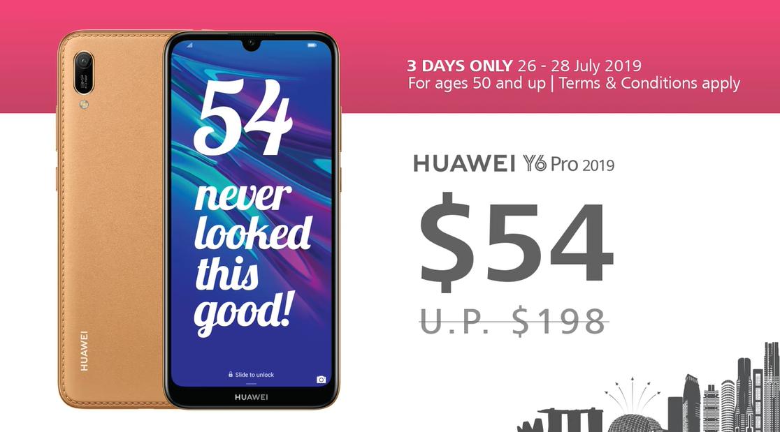 Huawei Y6 Pro 2019 Promo