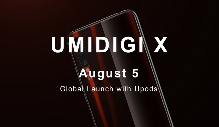 Video teaser UMIDIGI X is an ultra-wide AI camera with a