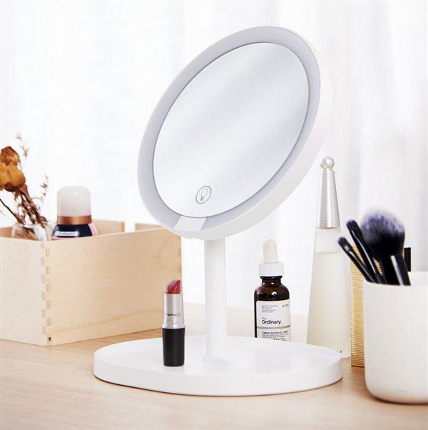 Xiaomi Lance Un Miroir De Maquillage A Led Avec Eclairage 95
