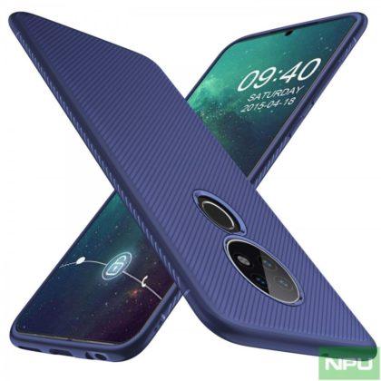 Nokia 7.2 case renders Blue