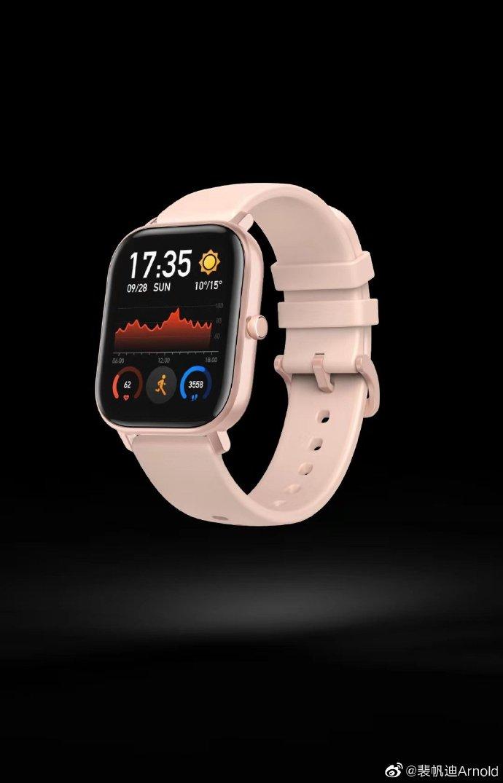Amazfit Nieuw horloge PPI hoog