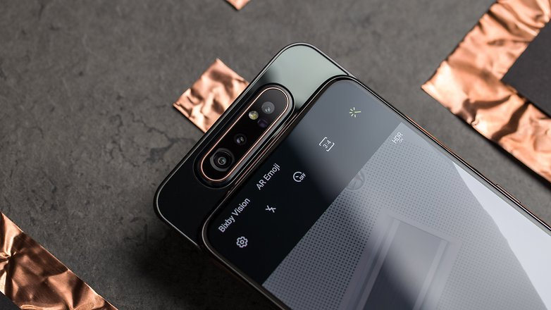 samsung galaxy a80 front camera