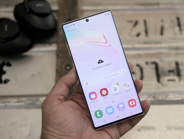 Samsung Galaxy Note 10 plus hands-on test 08