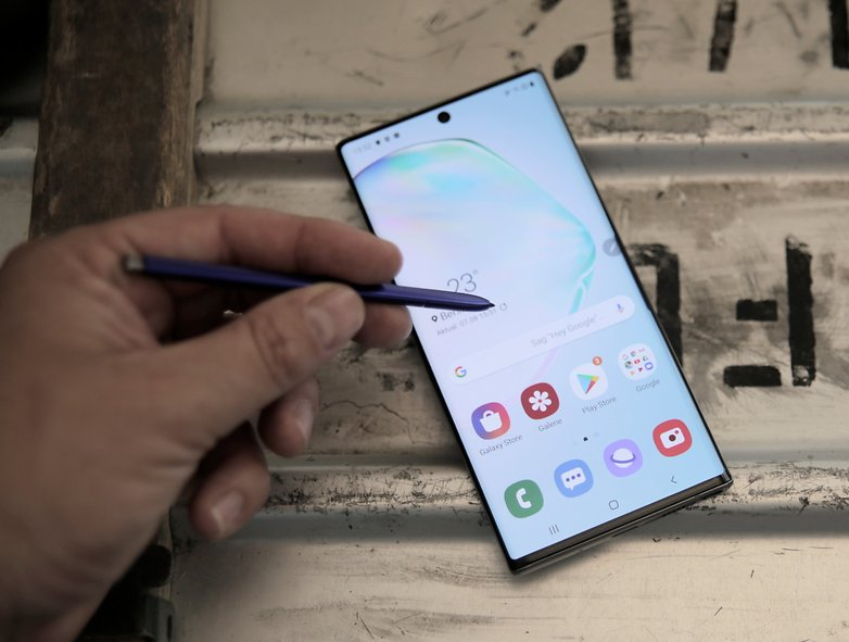 Samsung Galaxy Note 10 plus hands-on test 11