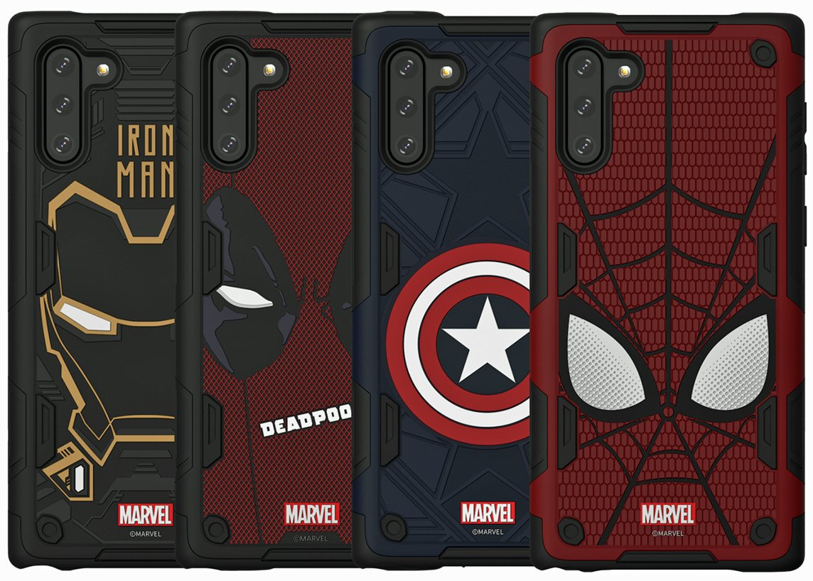 Galaxy Note10 Marvel Smart Cover