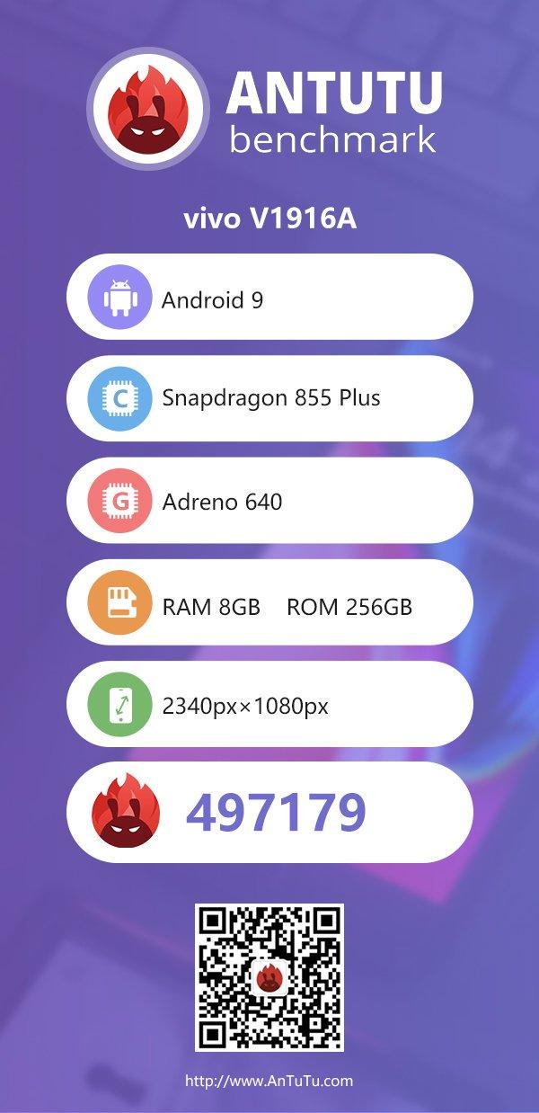 Vivo iQOO Pro 5G AnTuTu