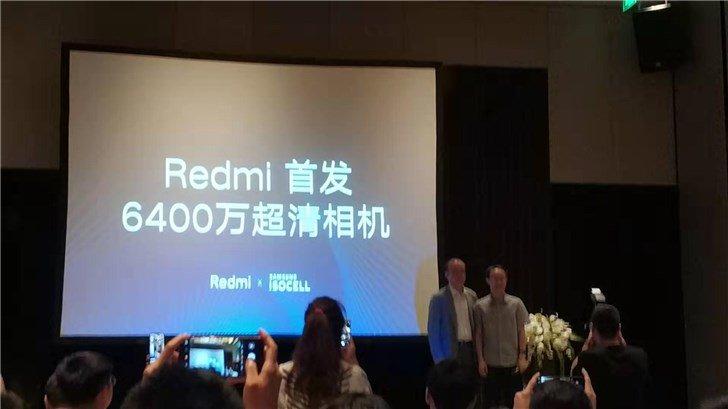 Xiaomi 64MP camera