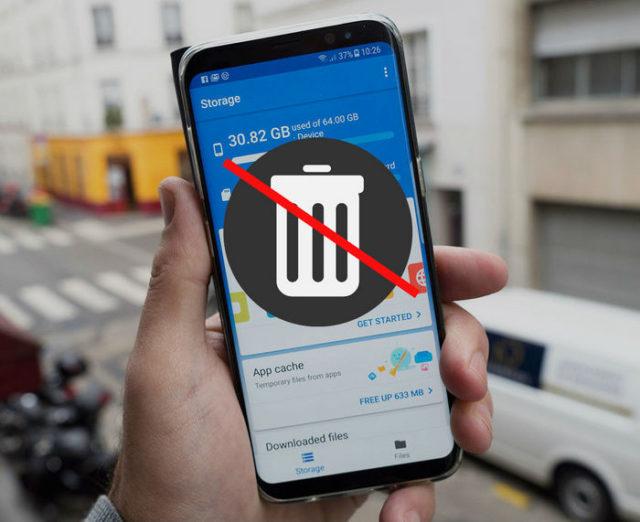 nadelen van apps voor het opschonen van telefoons