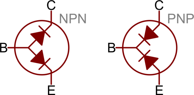 в чем разница транзисторов пнп и нпн