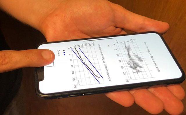 كيفية قياس الضغط على الهاتف