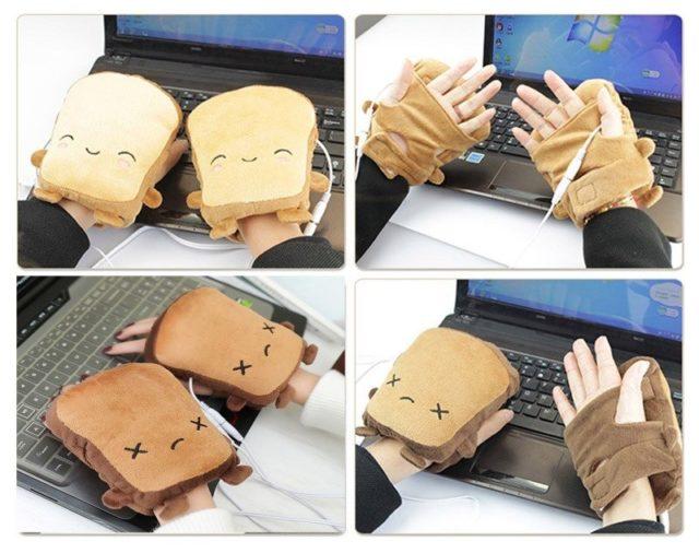 Перчатки-грелки для рук