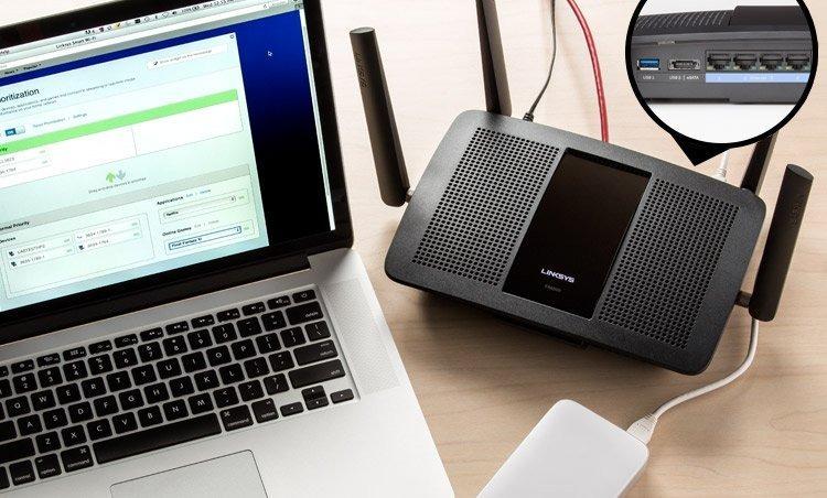 Подключение роутера к MacBook