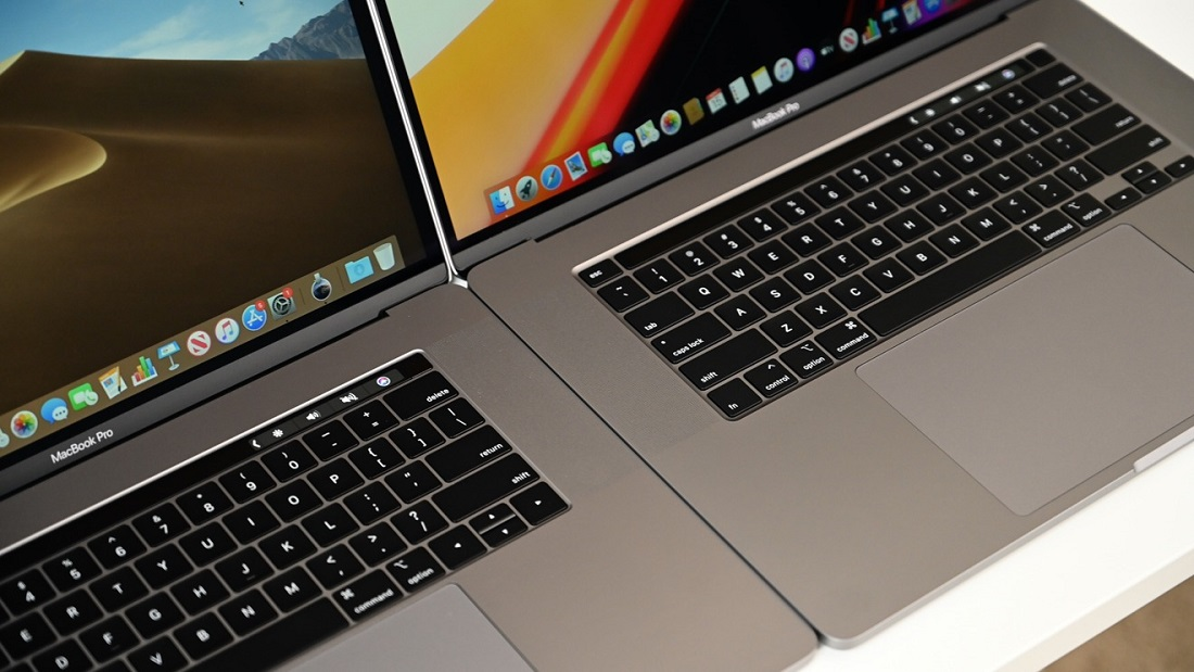 The main differences between the MacBook Pro 16 ″ from the MacBook Pro 15 ″