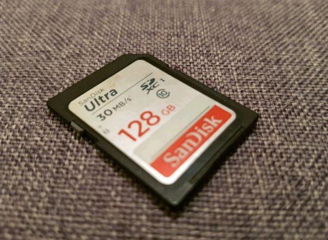 модели карт памяти