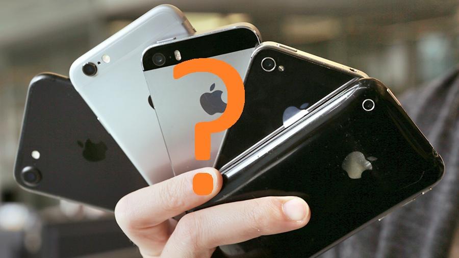 IPhone Auswahl