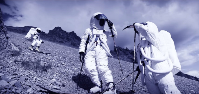Горнолыжный спорт на луне