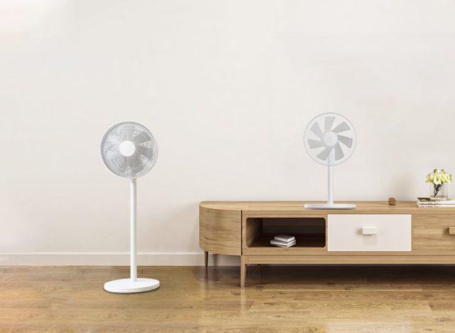 вентилятор в комнате