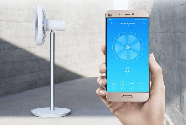 Смартфон и вентилятор