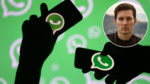 Durov en WhatsApp